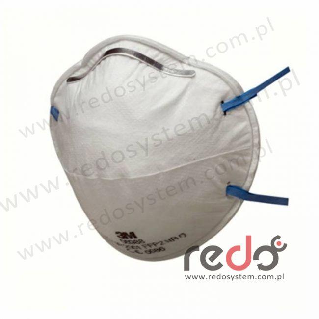 Półmaska filtrująca 3M™ 8810, kopułkowa bez zaworu wydechowego klasa FFP2 12xNDS (8810)