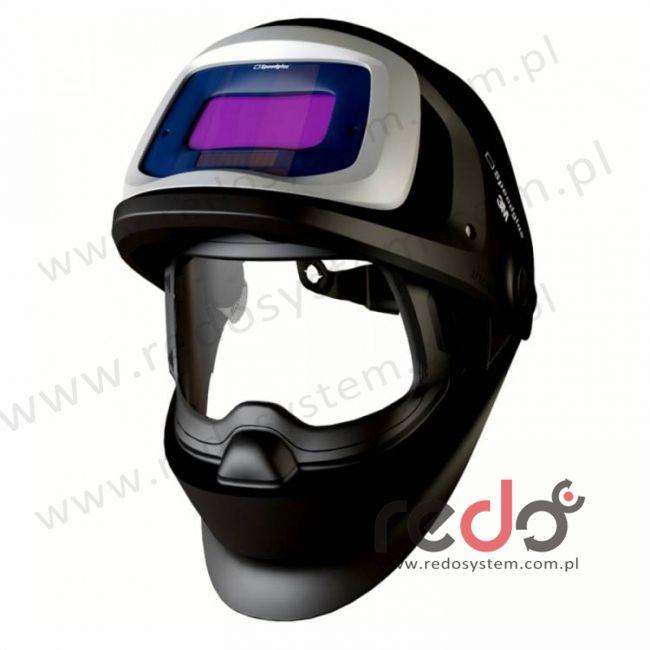 Przyłbica spawalnicza 3M™ Speedglas 9100 FX, z bocznymi szybkami SW, filtr 9100V, zaciemnienie 5/8/9-13