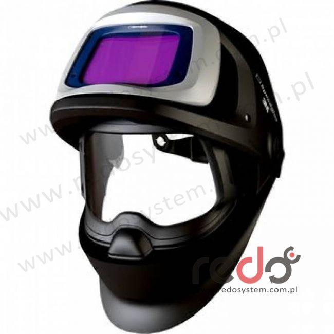 Przyłbica spawalnicza 3M™ Speedglas 9100 FX, z bocznymi szybkami SW, filtr 9100XX, zaciemnienie 5/8/9-13