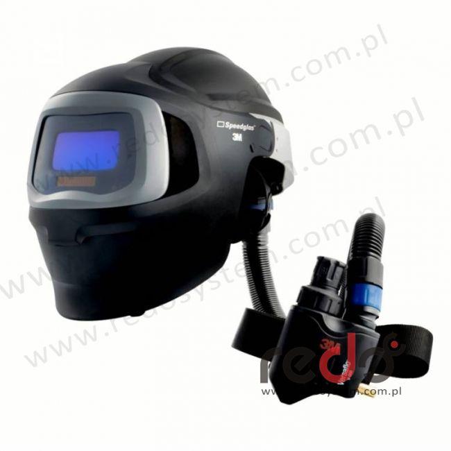 Przyłbica spawalnicza 3M™ Speedglas 9100 MP filtr 9100V z systemem Versaflo V-500E