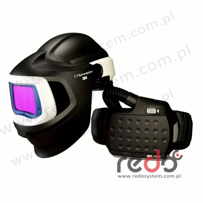 Przyłbica spawalnicza 3M™ Speedglas 9100 MP filtr 9100XX z systemem Adflo  (akumulator LiIon)
