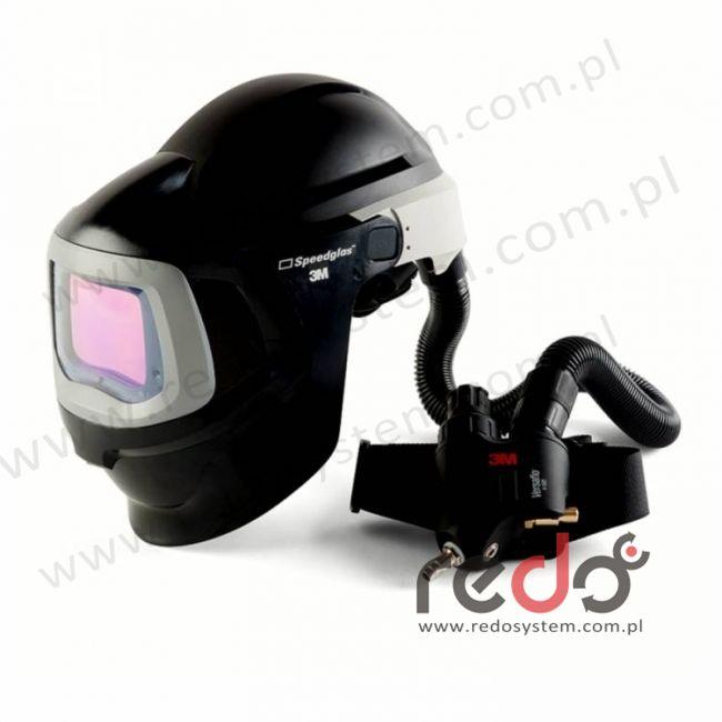 Przyłbica spawalnicza 3M™ Speedglas 9100 MP filtr 9100XX z systemem Versaflo V-500E