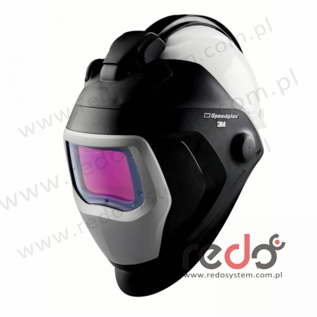 Przyłbica spawalnicza 3M™ Speedglas 9100-QR filtr 9100XX z hełmem ochronnym H-702