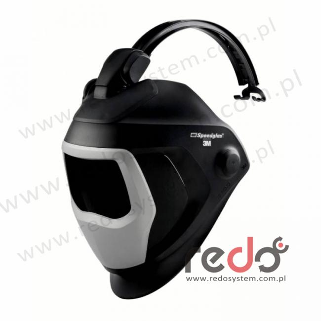 Przyłbica spawalnicza 3M™ Speedglas 9100-QR z systemem łączenia przyłbicy z hełmem, bez ADF i hełmu ochronnego