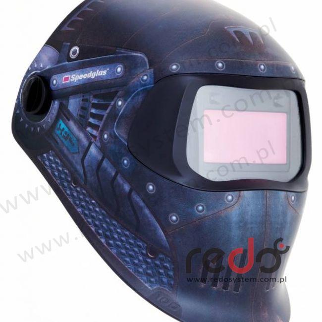 Przyłbica spawalnicza 3M™ Speedglas 100 Wojownik Trojański, filtr 100V (751620)