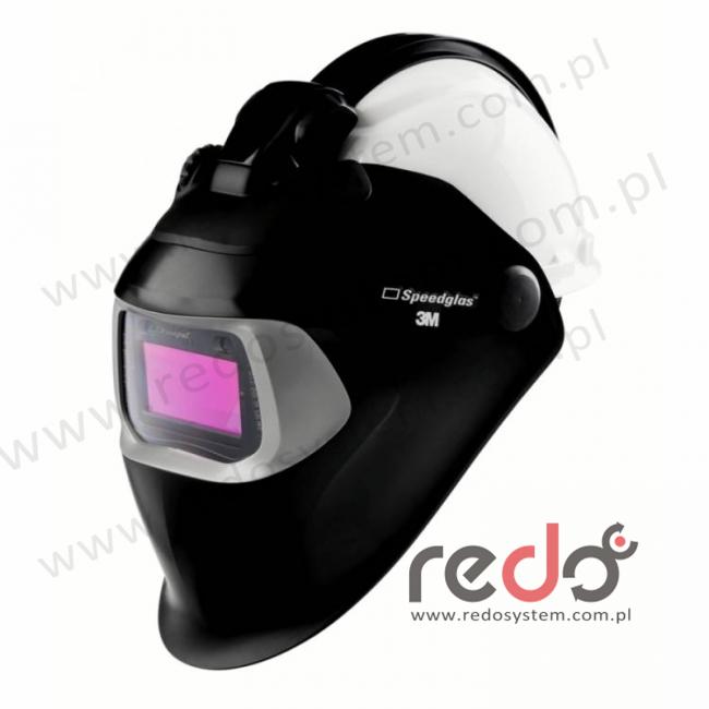 Przyłbica spawalnicza 3M™ Speedglas 100-QR filtr 100V z hełmem ochronnym H-701