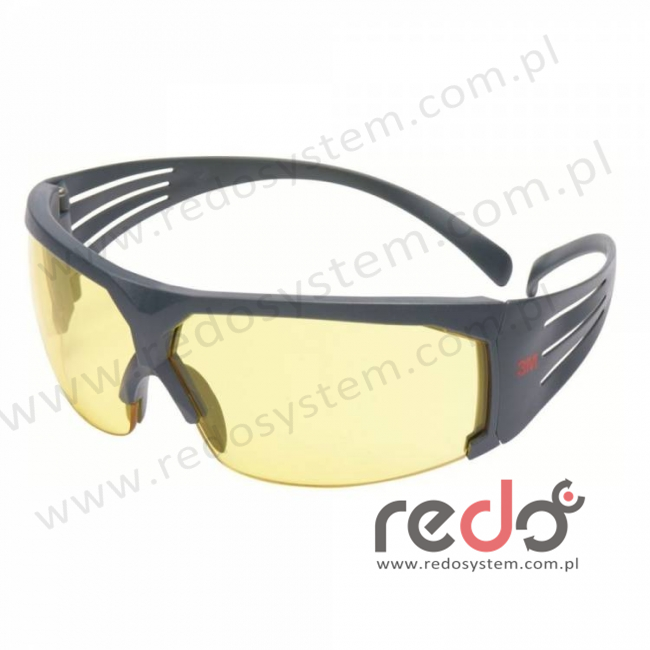 Okulary ochronne SecureFit™ 603 żółta soczewka Scotchgard