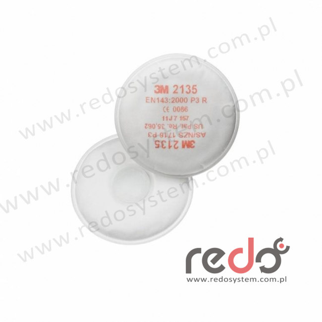 3M™ Filtr przeciwpyłowy 2135 przeciw cząstkom stałym i ciekłym P3 (2135)