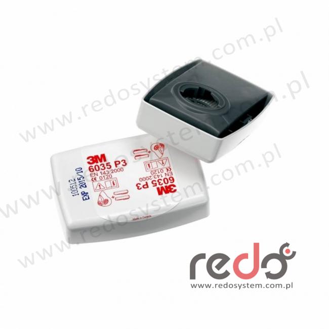 3M™ Filtr przeciwpyłowy 6035 przeciw cząstkom stałym i ciekłym P3  (6035)