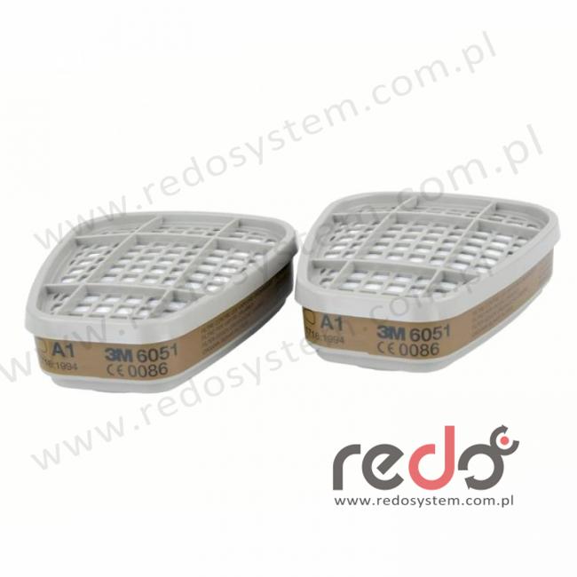 3M™ Pochłaniacz 6051 A1 przeciw parom organicznym (6051)