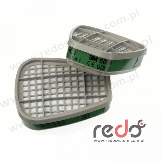 3M™ Pochłaniacz 6054 K1 przeciw parom amoniaku (6054)