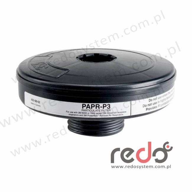 3M™ Filtr P2 z uszczelką do systemu Dusaster™ (451-00-02P5)
