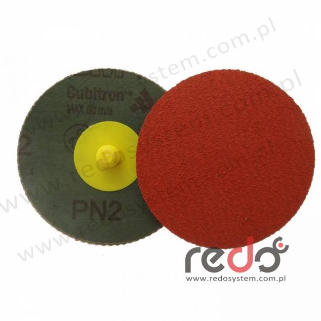 Dysk roloc 3M™ 785C 75mm P80 żółty