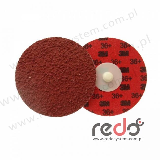 Dysk roloc 3M™ 984F 75mm 36+ czerwony