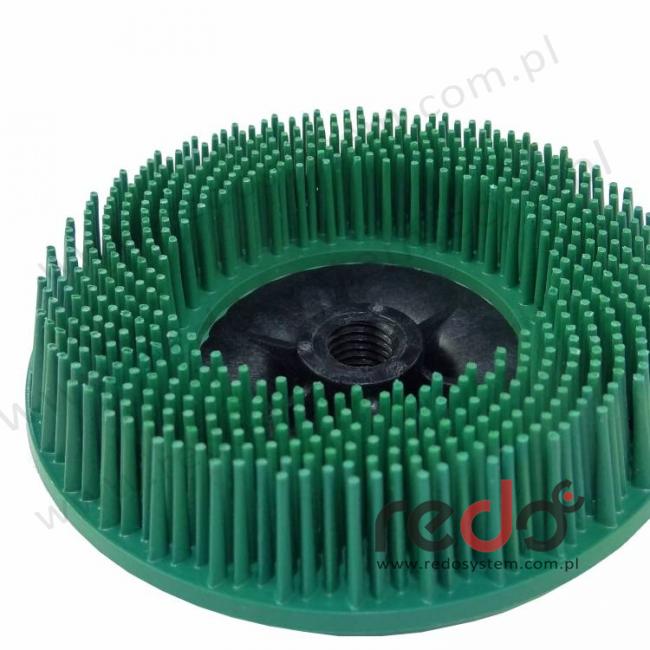 Dysk szczoteczkowy 3M™ Scotch-Brite Bristle BD-ZB 115xM14 P50 zielony