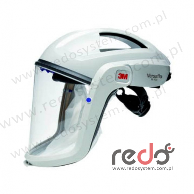 Nagłowie Versaflo 3M™ M-107 serii 3M™ M-100 bez kołnierza z trudnopalnym uszczelnieniem twarzy (M-107)