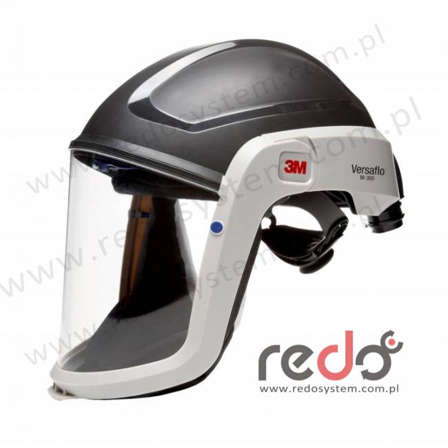Nagłowie Versaflo 3M™ M-306 serii 3M™ M-300 bez kołnierza ze standardowym uszczelnieniem twarzy (M-306)
