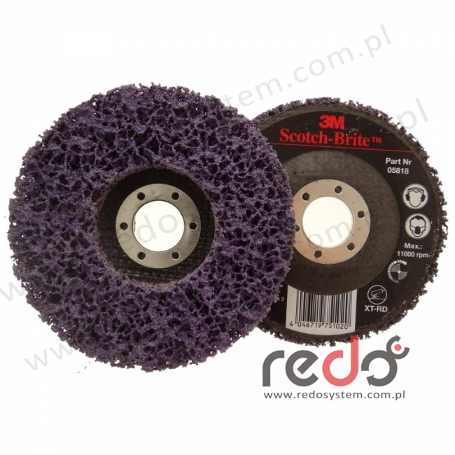 Dysk Clean &Strip XT-RD 115x22 X CRS fioletowy
