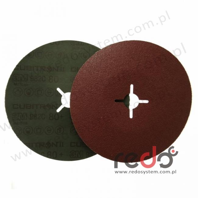 3M™ dysk fibrowy (fibra) 987C 178 x 22 P80+