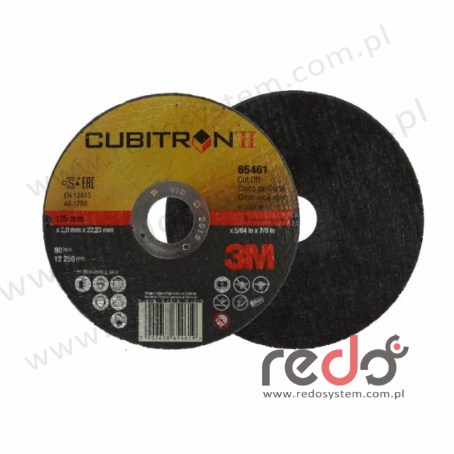 3M™ tarcza do cięcia Cubitron™II 41-125x2,0x22