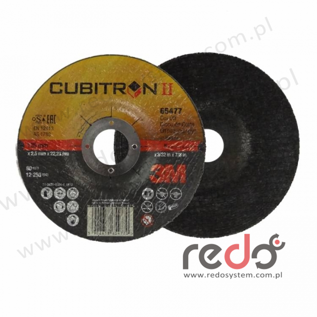 3M™ tarcza do cięcia Cubitron™II 42-125x2,5x22
