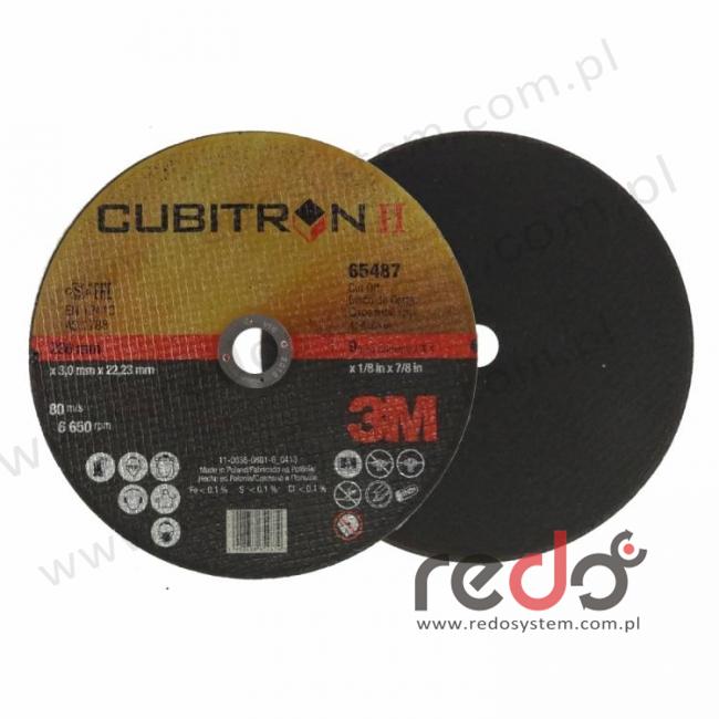 3M™ tarcza do cięcia Cubitron™II 41-230x3,0x22