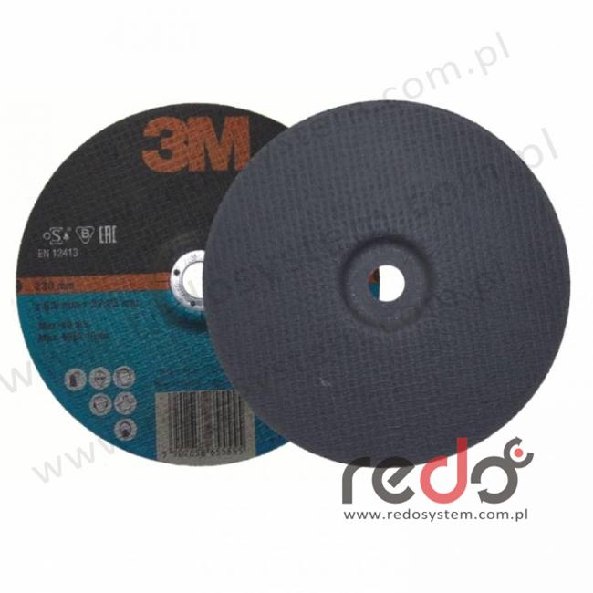 Tarcza do szlifowania METAL 230x6,8x22
