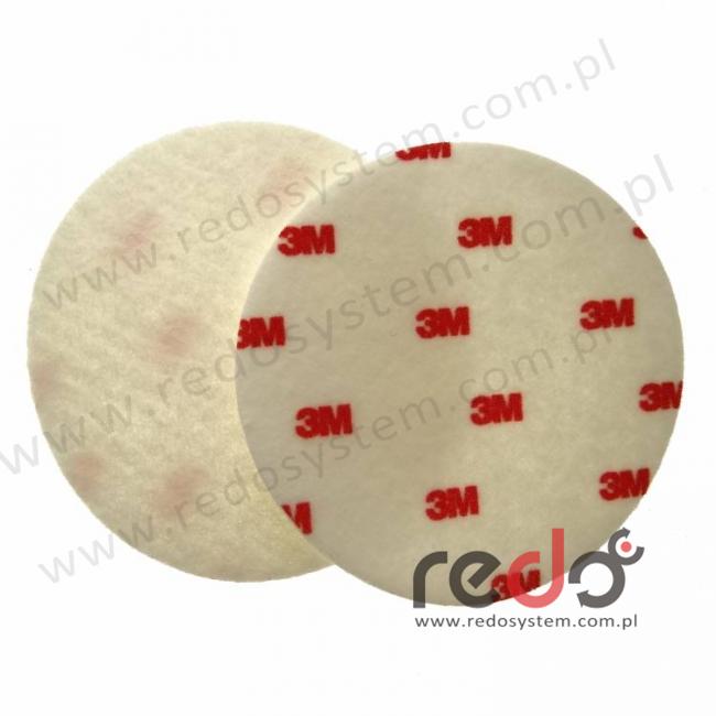 Tarcza polerska filcowa (czerwona) twarda 125mm