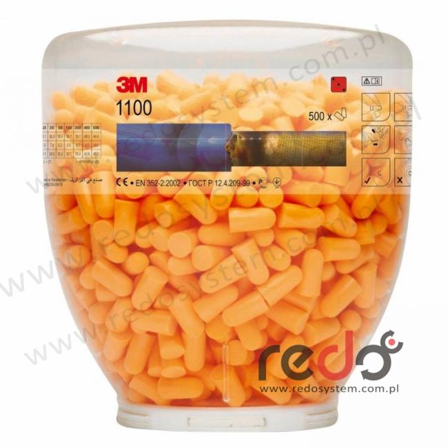 Wkład uzupełniający 3M™ 1100B do dozownika One Touch butla  (500 par) (1100B)