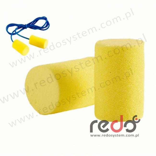 Wkładki przeciwhałasowe 3M™ CLASSIC SOFT - ze sznurkiem (SNR 28 dB) (PR-01-005)