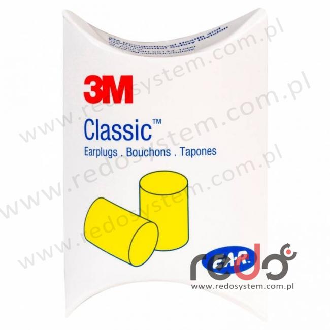 Wkładki przeciwhałasowe CLASSIC w pudełku 1000 szt. (28 dB) (PP-01-002)