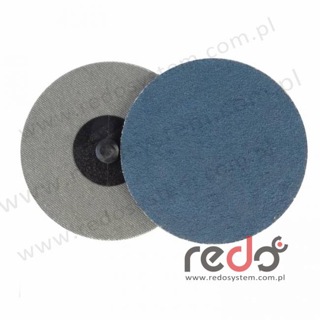 Dysk REDO ROLOK laminowany HZ72L P80 76mm  (ziarno ceramika/elektrokorund)