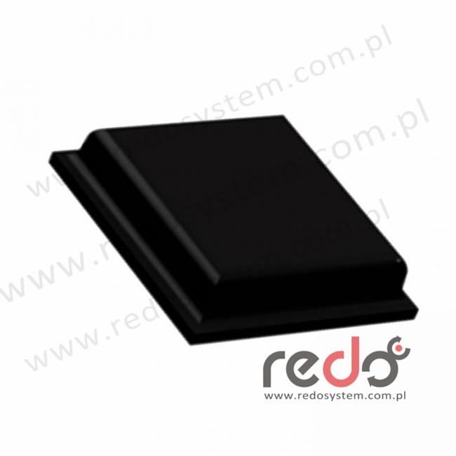 Bumpon (SJ-5007) Czarny 2,5x10,5x0,0105