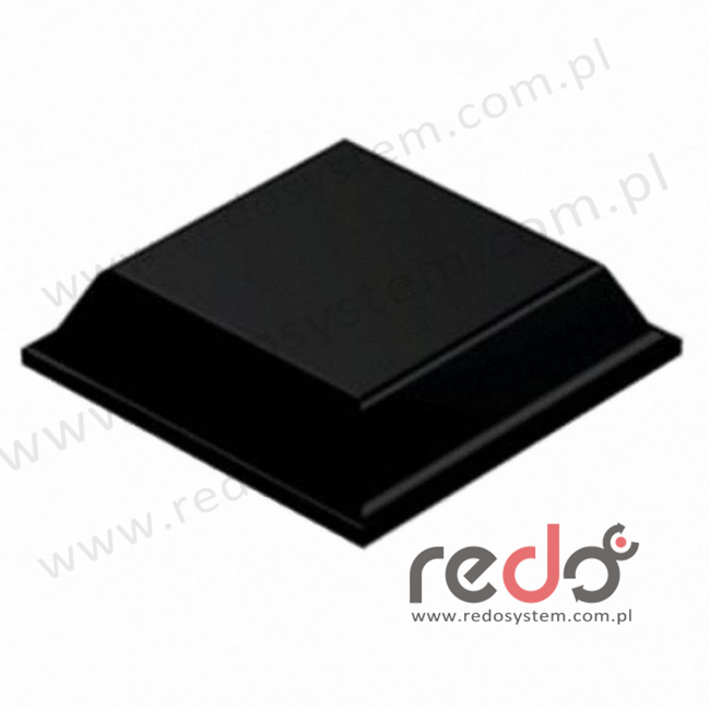 Bumpon (SJ-5008) Czarny 3x12,7x0,0127