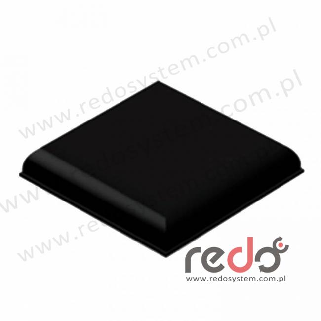 Bumpon (SJ-5009) Czarny 10,2x22,4x0,0224