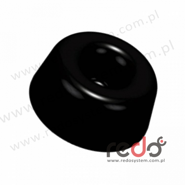 Bumpon (SJ-5009) Czarny 10,2x22,4x0,0224 (blister)