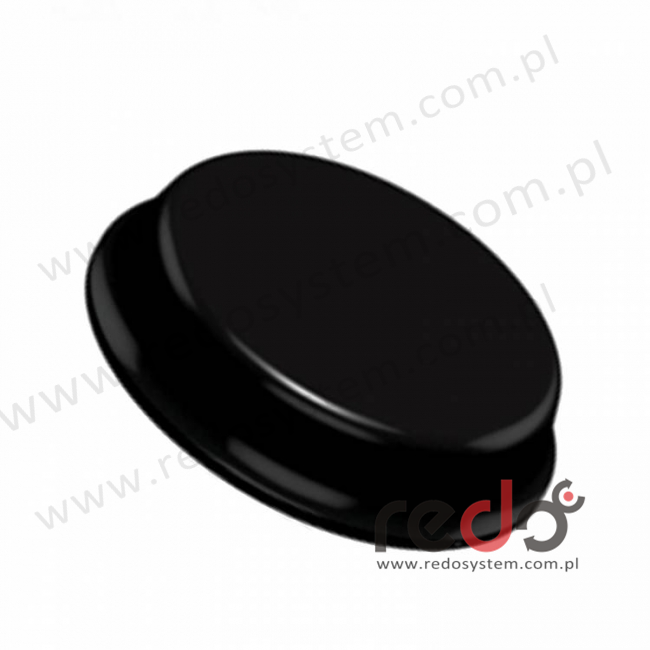 Bumpon (SJ-5744) Czarny 4,1x19,1x0,0191