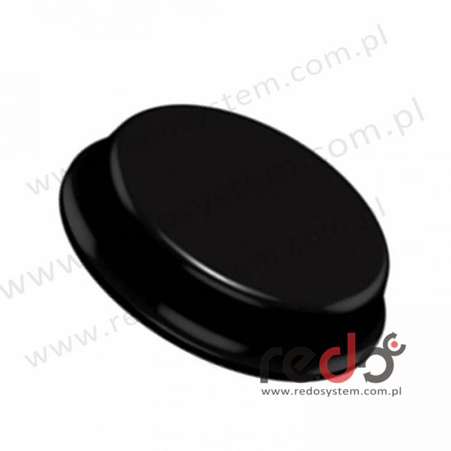 Bumpon (SJ-6148) Czarny 6,2x20x0,02