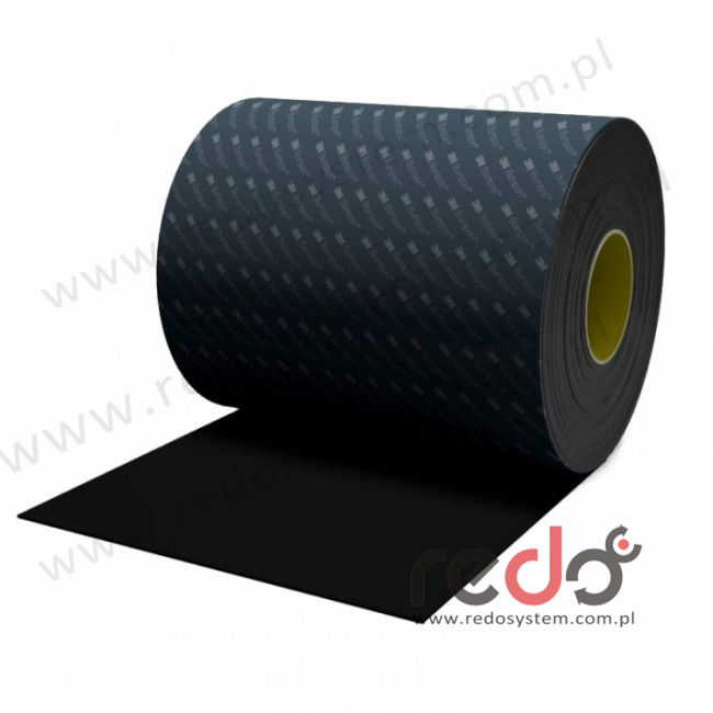 Bumpon (SJ-6232) Czarny 0,8x114,3x65,8368