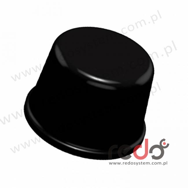 Bumpon (SJ-61A3) Czarny 6,4x9,5x0,0095