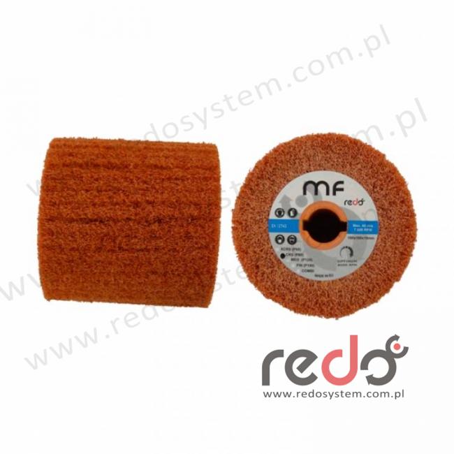 3M™ Wałek do satyniarki HDI-MF 100x100x19 A CRS pomarańczowy