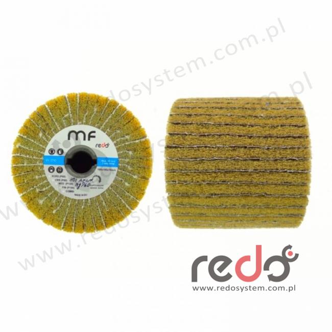 Wałek do satyniarki HDI-MF combi 100x100x19 A FIN żółty