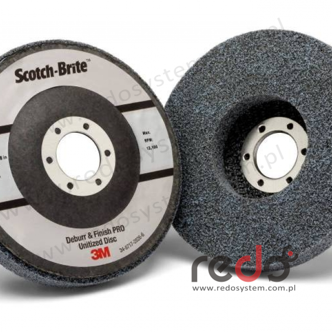 Scotch-Brite Deburr and Finish PRO 6C MED. 115x22 (DP-UD)