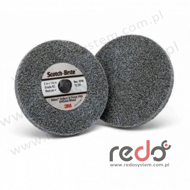 Roloc DP-UR z włókiny Scotch-Brite Debur and Finish PRO 6C MED. 75x3,10