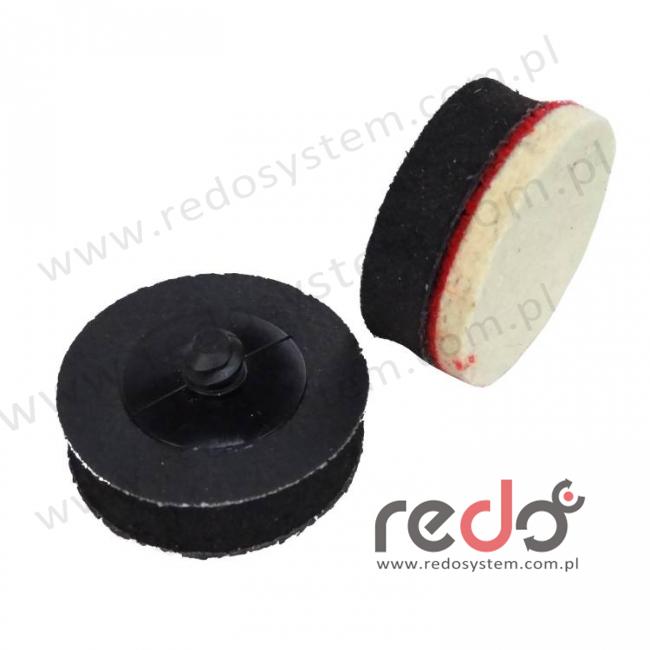Gąbka dystansowa z mikrogumy Roloc-rzep do krążków na rzep 38mm
