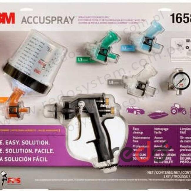 Pistolet natryskowy 3M™ Accuspray™ ONE - zestaw startowy [16578]