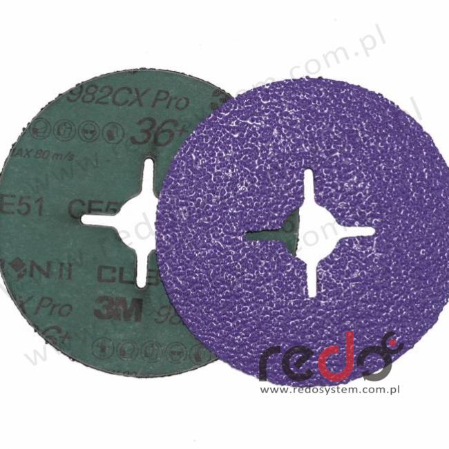 Dysk fibrowy 982CX PRO 36+, 3M™ Cubitron™ II Fibre Disc 982CX PRO 36+