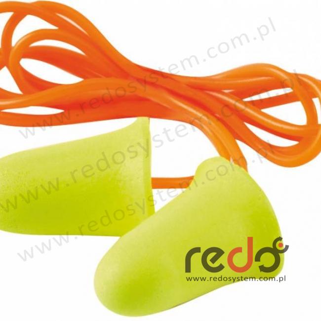 Wkładki przeciwhałasowe 3M™ E-A-R SOFT FX - ze sznurkiem (SNR 39) (ES-01-021)