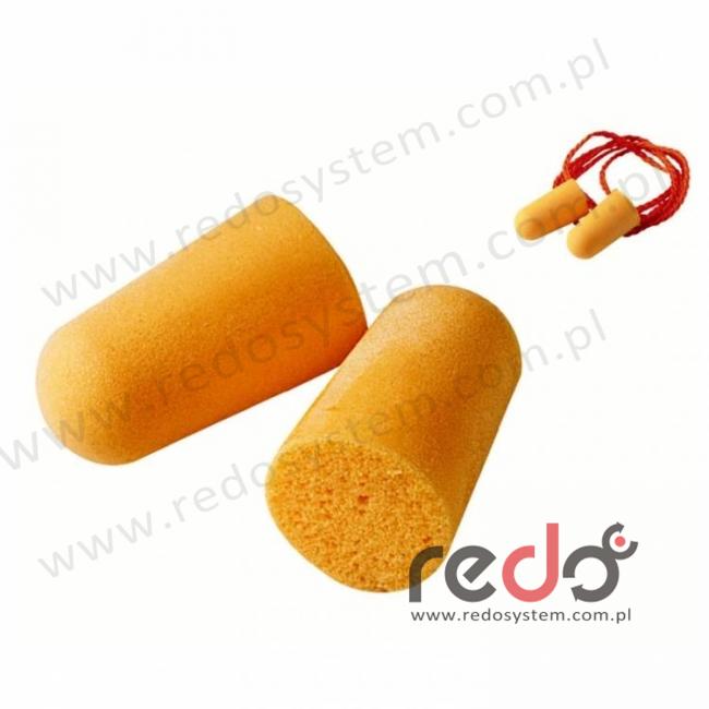 Wkładki przeciwhałasowe 3M™ 1130 rolowane, jednorazowe ze sznurkiem (SNR 34 dB) (1130)