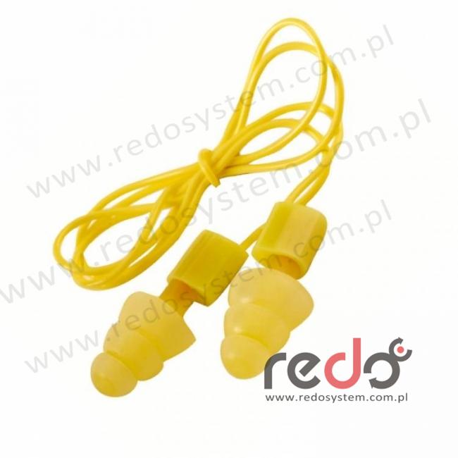 Wkładki przeciwhałasowe 3M™ Ultrafit 20 - ze sznurkiem, w pudełku (SNR 20 dB) (UF-01-012)